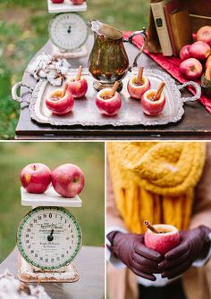 DIY Spiked Apple Cider for a fall or winter wedding