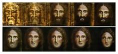 Is this what Jesus looked like? Reconstructed images of Jesus' face from the Shroud of Turin - Scientific techniques used by Italian police appear to reveal the face of Jesus turning into a child Holy Mary, Turin Shroud, Italian Police, Age Progression, Catholic Online, Reverse Aging, Religion Catolica, Jesus Face, Spirituality