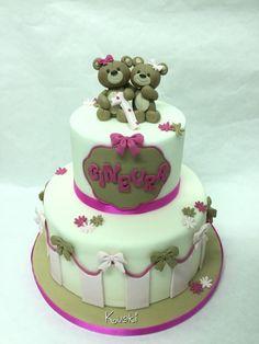 Firts Birthday cake by Donatella Bussacchetti