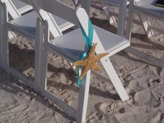 Beach+Wedding+Decor++Starfish+Chair+Or+by+BeachWeddingSupply,+$10.00