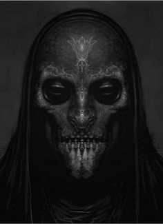 Death Eater mask (3) by Rob Bliss
