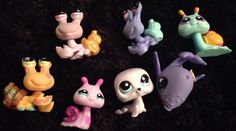 Littlest Pet Shop Lot Of 7 Sea ocean water creatures cute! Lps #Hasbro