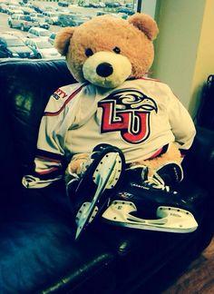 LU Hockey teddy bear. I love all things Liberty! #megafan #myschoolisawesome
