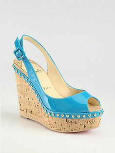 men christian louboutin - Christian Louboutin on Pinterest | Patent Leather, Cork Wedges and ...
