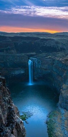 Palouse Falls, SE Washington State