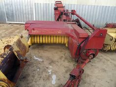 New Holland 273 hay equipment salvaged for used parts. This unit is available at All States Ag Parts in Downing, WI. Call 877-530-1010 parts. Unit ID#: EQ-25384. The photo depicts the equipment in the condition it arrived at our salvage yard. Parts shown may or may not still be available. http://www.TractorPartsASAP.com