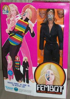 Kenner's 1977 The Bionic Woman FEMBOT Doll