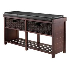 You'll love the Colin Cushion Storage Bench with Basket at Wayfair.ca - Great Deals on all Furniture  products with Free Shipping on most stuff, even the big stuff.