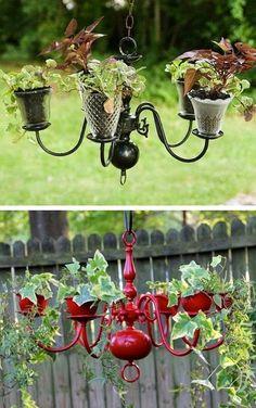 Creative Garden Container Idea | Outdoor Areas