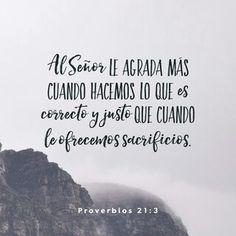 PROVERBIOS 21:3