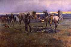 'When Horses Talk There's Slim Chance for Truce' by Charles M. Russell