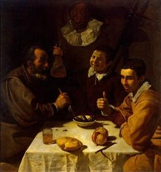 Breakfast by Diego Velazquez
