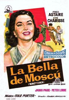 "La bella de Moscú (1957) ""Silk Stockings"" de Rouben Mamoulian - tt0050972"