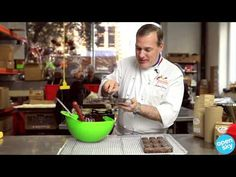 Chocolate Making 101 with Jacques Torres.  Demonstrates molding, but not tempering.