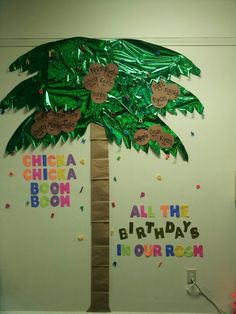 Our birthday board