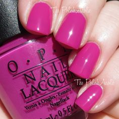 OPI 2015 Brights Collection The Berry Thought of You
