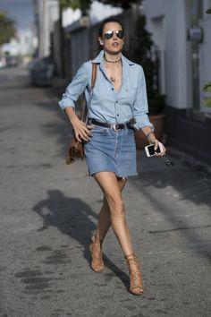 11 Looks da Alessandra Ambrósio Por Aí - Fashionismo
