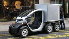 ELEKTRO-KASTENWAGEN Renault macht den Twizy zur coolen Kiste