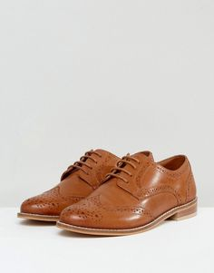 ASOS MOJITO Leather Brogues - Tan