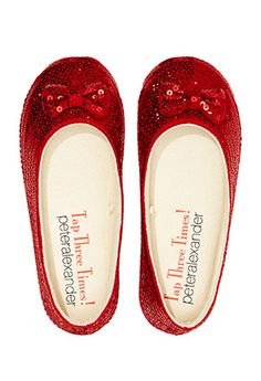 Image for Wizard Of Oz Ruby Slippers from Peter Alexander