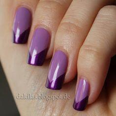 Dakila´s NailBlog - Purple French