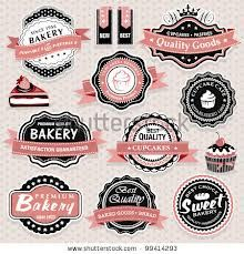 Vetores semelhantes a 24052883 Collection of vintage retro grunge bakery food labels, badges and icons Logo Boulangerie, Logo Doce, Vintage Bakery, Vintage Food, Bakery Logo, Bakery Slogans, Frame Clipart, Retro Recipes, Label Templates