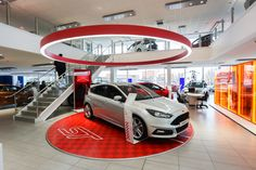 The Focus ST at our FordStore, Leicester