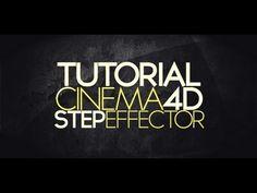 C4D Tutorial: Step Effector