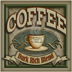 coffee dark rich blend