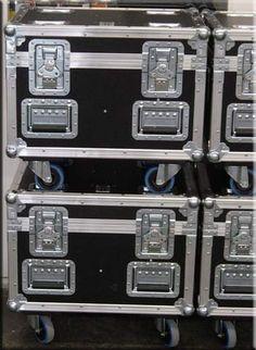 Kettenzu-Cases mit Stapelvorrichtung