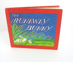 Vintage Childrens Book The Runaway Bunny: Currently reading this to Dylan