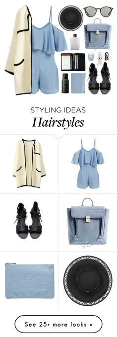 """Yoins5"" by jesicacecillia on Polyvore featuring Royce Leather, 3.1 Phillip Lim, Miss Selfridge, Fresh, Marc Jacobs, Ray-Ban, Hermès, Living Proof, yoins and yoinscollection"
