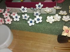 Gumpaste flower gatden