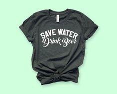 Save Water Drink Wine Funny Men Women Long Short Sleeve Baseball T Shirt 481