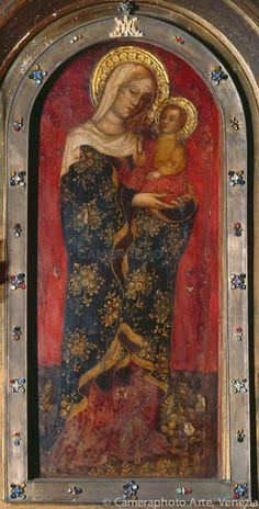 LA VERGINE COL PUTTO  Autore: Nicolò di Pietro Secolo: XV° Chiesa: Chiesa di Santa Maria dei Miracoli