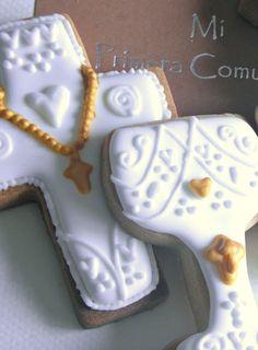 Galletas de comunión/decorated cookies