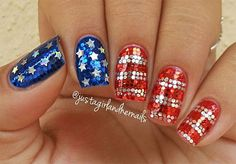 15 Fourth Of July Acrylic Nail Art Styles, Concepts, Trends & Stickers 2015 | 4th Of July Nails | Nail Design
