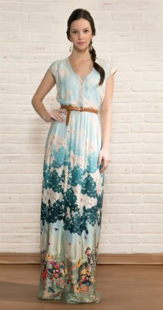 Vestido Longo Picnic