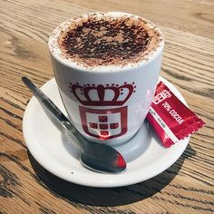 Our Hot Chocolate is today's perfect hand warmer! ☕️🍫 Get snug with a Solo at… Best Espresso, Hand Warmers, Hot Chocolate, Cocoa, Snacks, Mugs, Tableware, Coffee, Kaffee