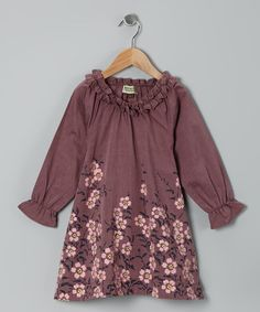 Another great find on #zulily! Mauve Mel Miko Dress - Infant, Toddler & Girls by Sophie Catalou #zulilyfinds