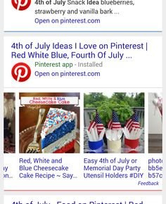 Google Adds Pinterest Carousel to Search Results #4thofjuly #socialmedia
