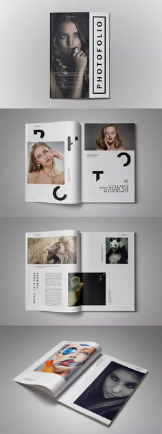 A4 Photofolio Template InDesign INDD - A4