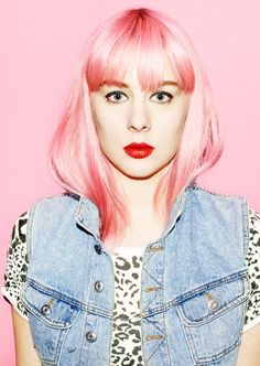 Pink Rinse #bleach #pink_hair #london_style