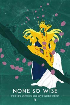 Virgo - Saint Seiya Minimalist Shaka, Yoan Salagnac on ArtStation Libra Tattoo, Constellation, Knights Of The Zodiac, Lego Knights, Asgard, Nerd, Funny Tattoos, Gold Art, Cartoon Art
