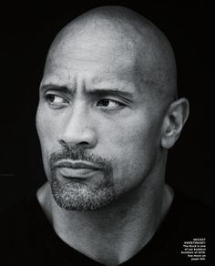 """""""Solid as a Rock"""" (I heard so much hoopla about The Rock not dating black women, and it confused me completely because he clearly states he did in this Essence article. And even if he didn't, that still doesn't change the drool factor women have over him. Gawd, he's gorgeous, especially when he smiles.)"""