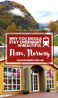 6 reasons why you should stay overnight in Flåm, and not just transfer from the cruise boat to the Flamsbana train. Oslo, Lillehammer, Europe Travel Tips, Travel Destinations, Budget Travel, Travel Ideas, Jotunheimen National Park, Scandinavian Cruises, Norway Winter