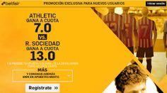 el forero jrvm y todos los bonos de deportes: betfair Athletic vs Real Sociedad super cuota 7 o ...