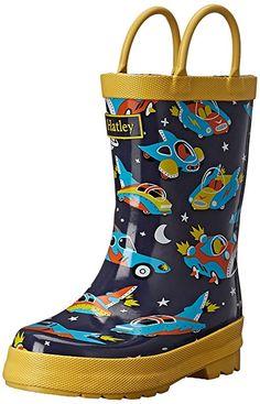 Amazon.com: Hatley Boys' Printed Rain Boots: Clothing #shopping #deals #kids #shoes #gift #mom #children #afflink