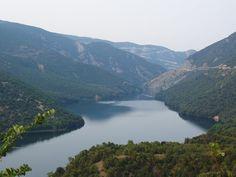Αλιάκμονας / River Aliakmonas in northern Greece (Macedonia) Macedonia, Planet Earth, Planets, Greece, Landscape, World, Water, Travel, Outdoor
