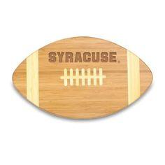 Syracuse Orangemen cutting board. This Orange football-shaped cutting board is a…